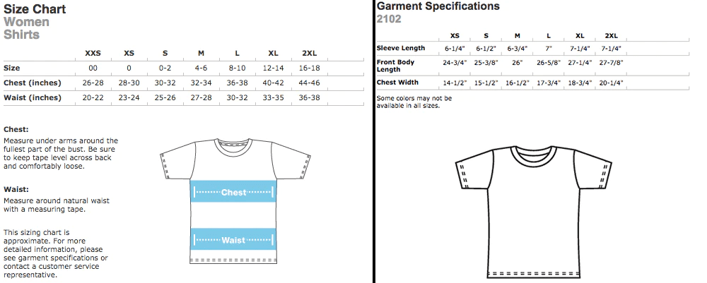 American apparel also merchandise sizing and information fangamer rh