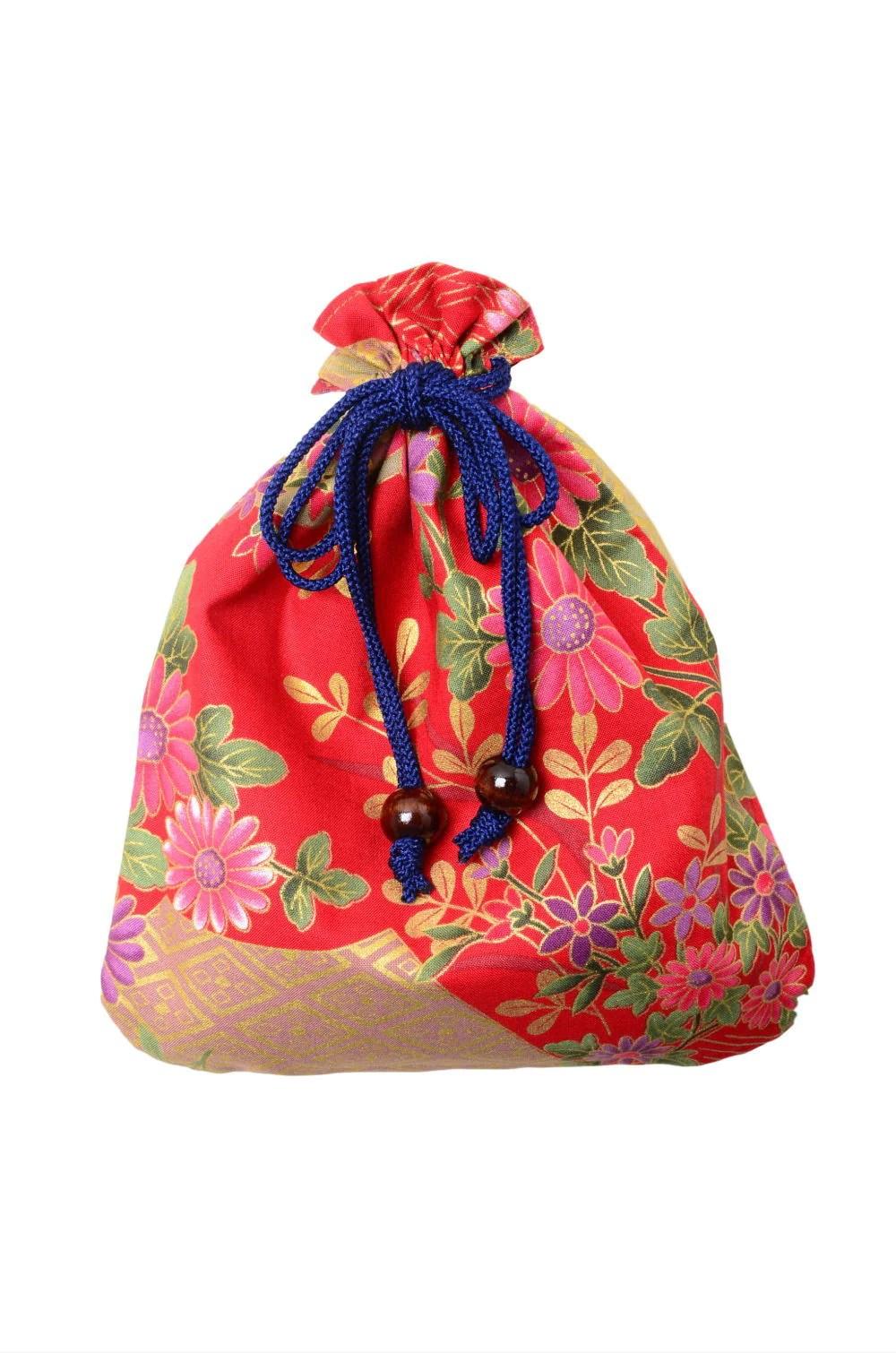 Kinchaku Bag : kinchaku, Kinchaku, Pouch, Kimono, Yukata, Market, Sakura