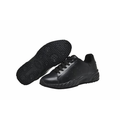 Womens Leather Slip Resistant Shoes