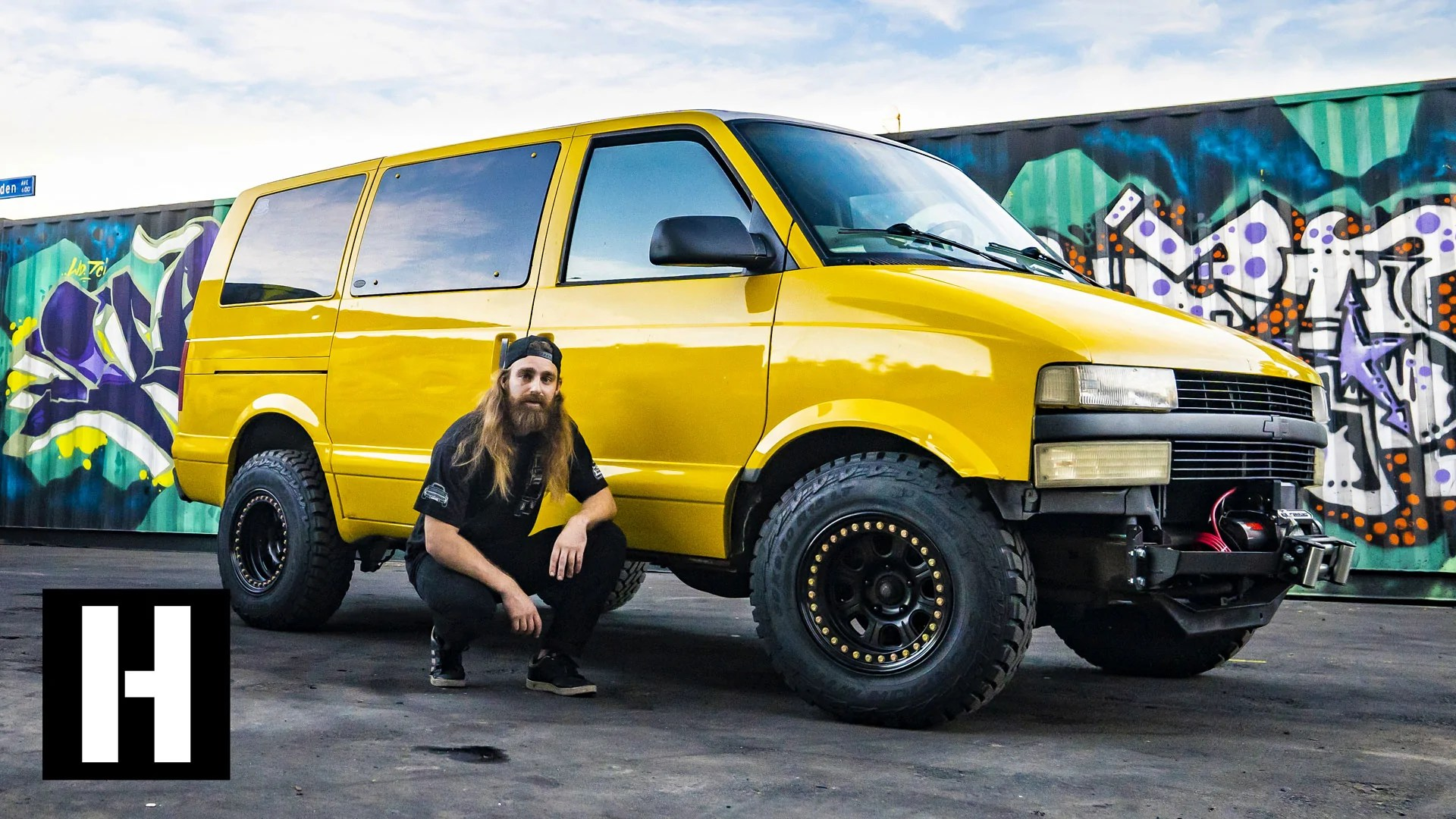 astro van to badasstro van our shreditor kyle s daily gets the safari hoonigan [ 1920 x 1080 Pixel ]