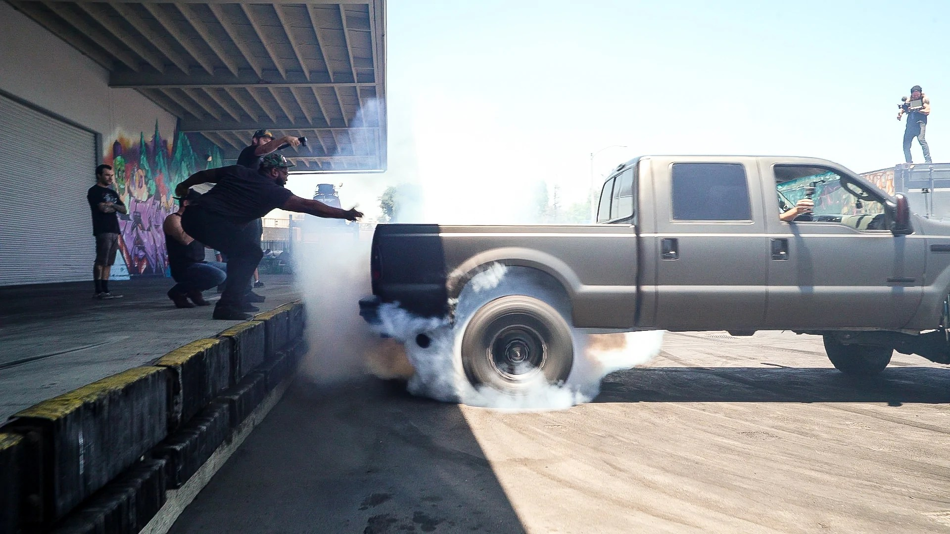 hight resolution of is this 700hp diesel ford f 250 the biggest vehicle to ever get rowdy hoonigan