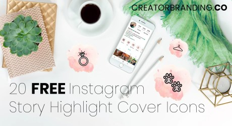 highlight instagram icons highlights story should pink