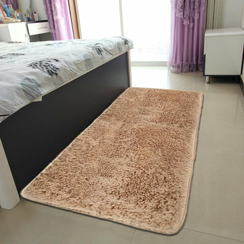 living room floor mats white laminate fluffy rugs pad anti slip doormat home carpet bedroom mat kitchen toilet