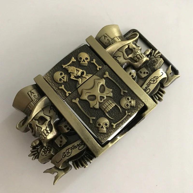 Lighter - Zippo Awesome Skulls