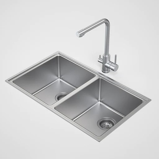 blue kitchen sink draining board buy seima tetra pro double inset undermount online caroma compass bowl by the space