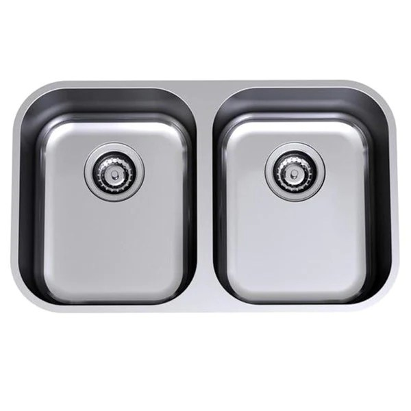 buy kitchen sink donate cabinets clark monaco double bowl undermount online the at blue space