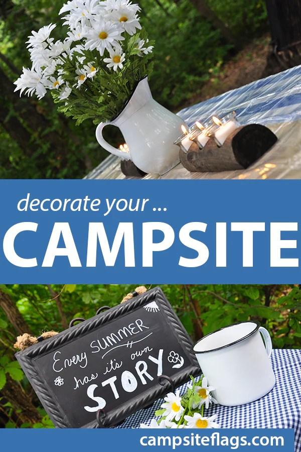 decorate your campsite