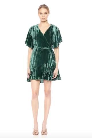 BB Dakota Women's Night Fever Velvet Dress