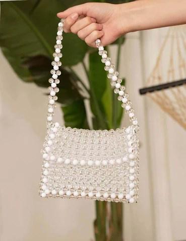 pixie market beaded bag