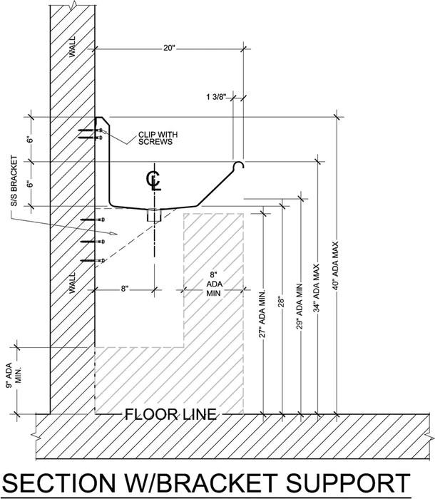 heavy duty 14 gauge 0 0781 type 304 stainless steel ada compliant multi station wash up sink 48 electronic faucets wall brackets