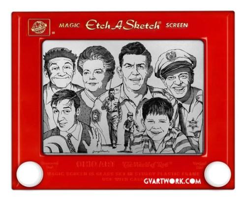 Etch-a-Sketch Art - George Vlosich III