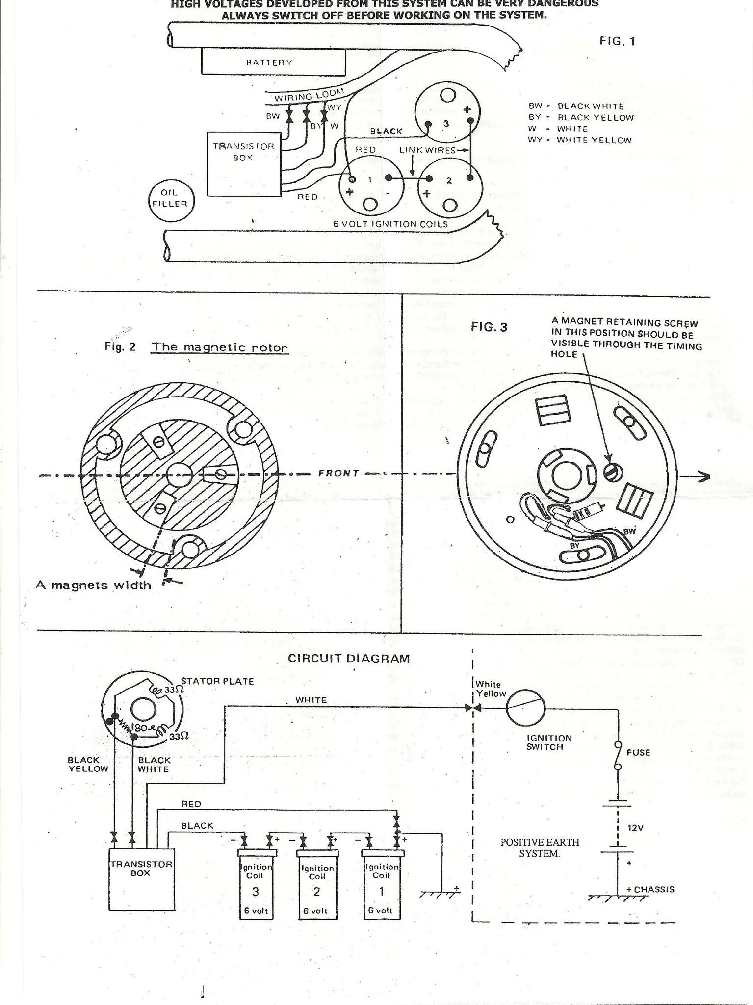 medium resolution of  boyer electronic ignition mk iv 12v bsa triumph 3 cylinder