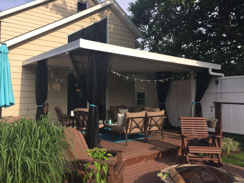 tracey s diy patio mosquito curtains