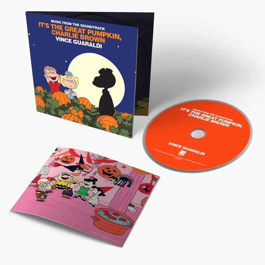 vince guaraldi it s the great pumpkin charlie brown music from the soundtrack  [ 900 x 900 Pixel ]