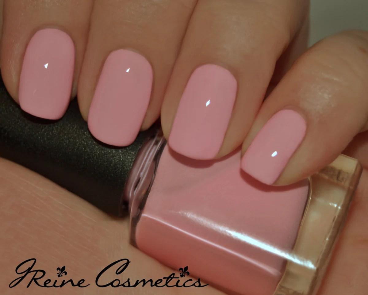 baby girl - pink creme nail