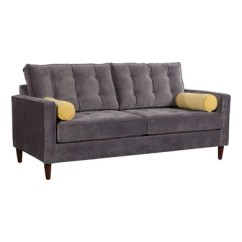 Ryker Reclining Sofa And Loveseat 2 Piece Set Large Couch Couches Furnituria Com Savannah Slate Golden