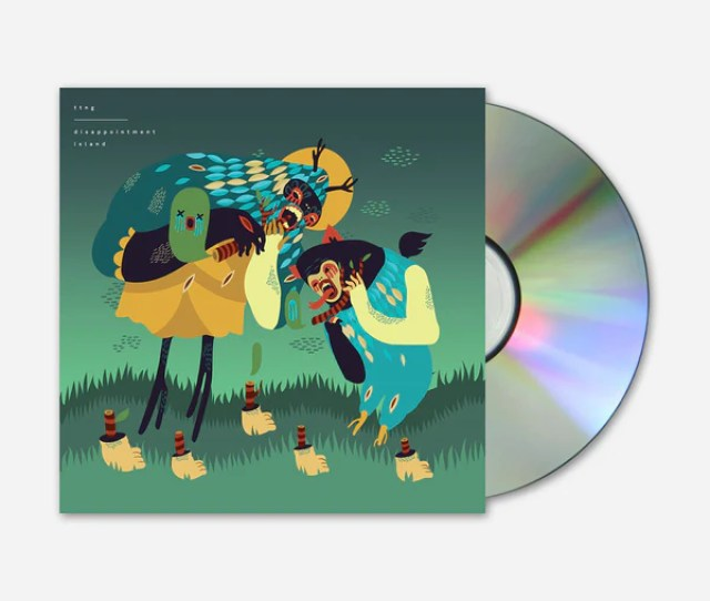 Disappointment Island Cd Hello Merch