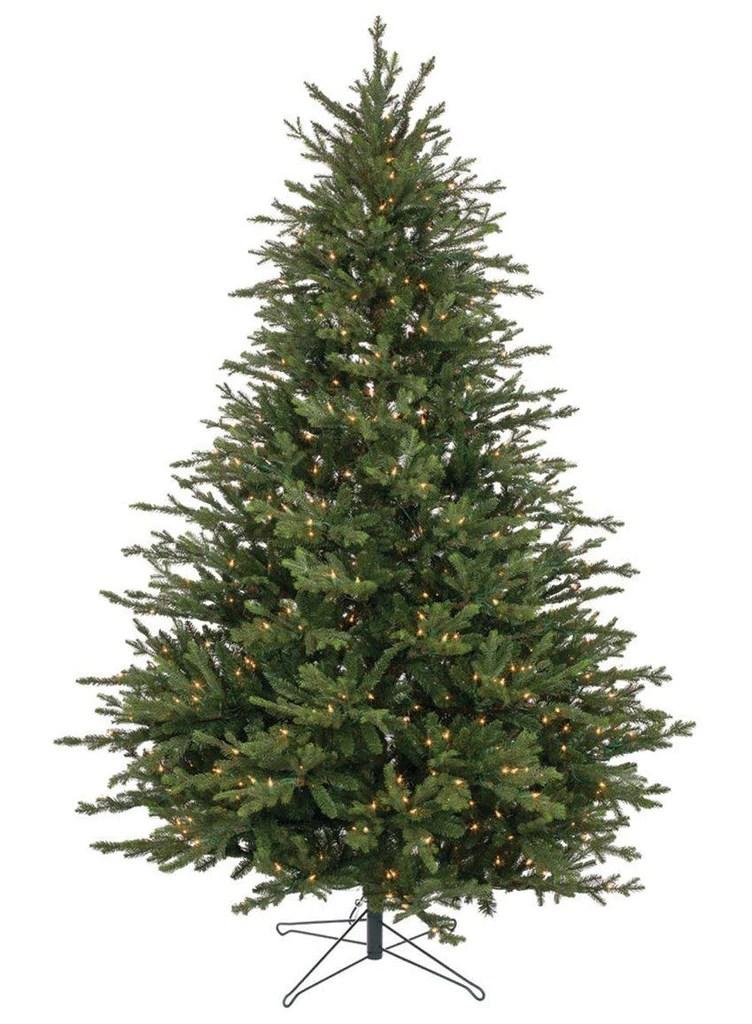 lighted pine tree 7
