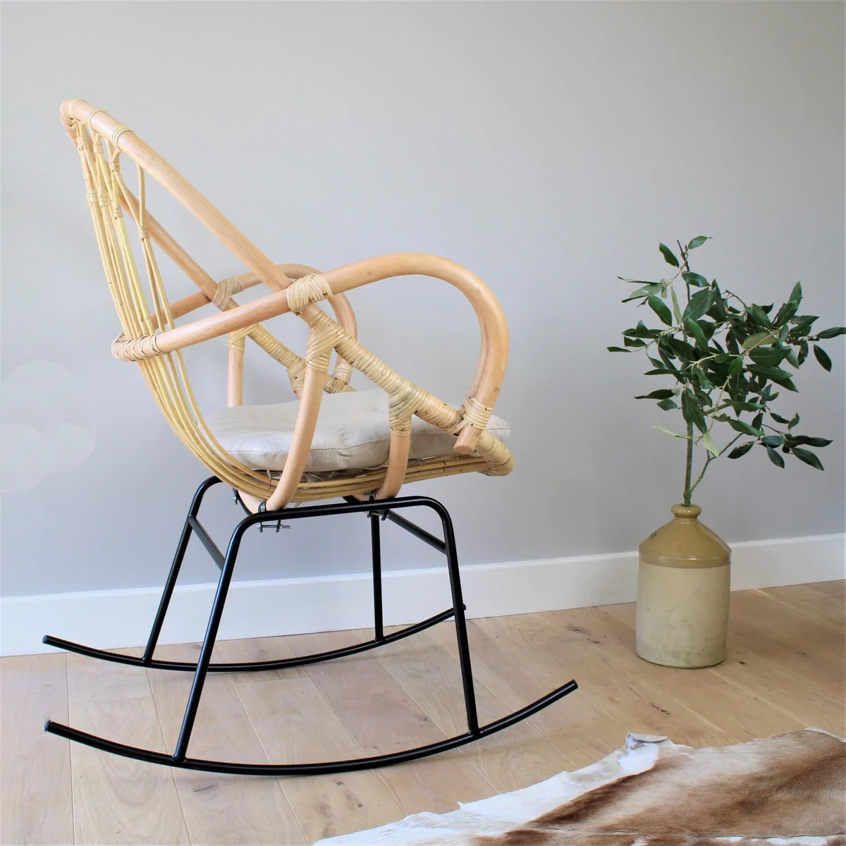 Wicker Rocking Chair Bali Rocker