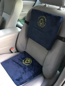 2 extra firm wedge seat cushion back