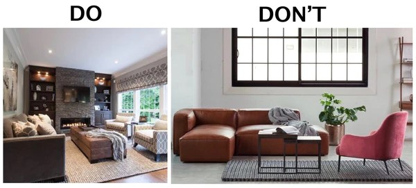 how to choose rug size for living room pictures of furniture layout choosing the right bradford s gallery do make sure you buy your is large enough get at least front feet all onto especially in open