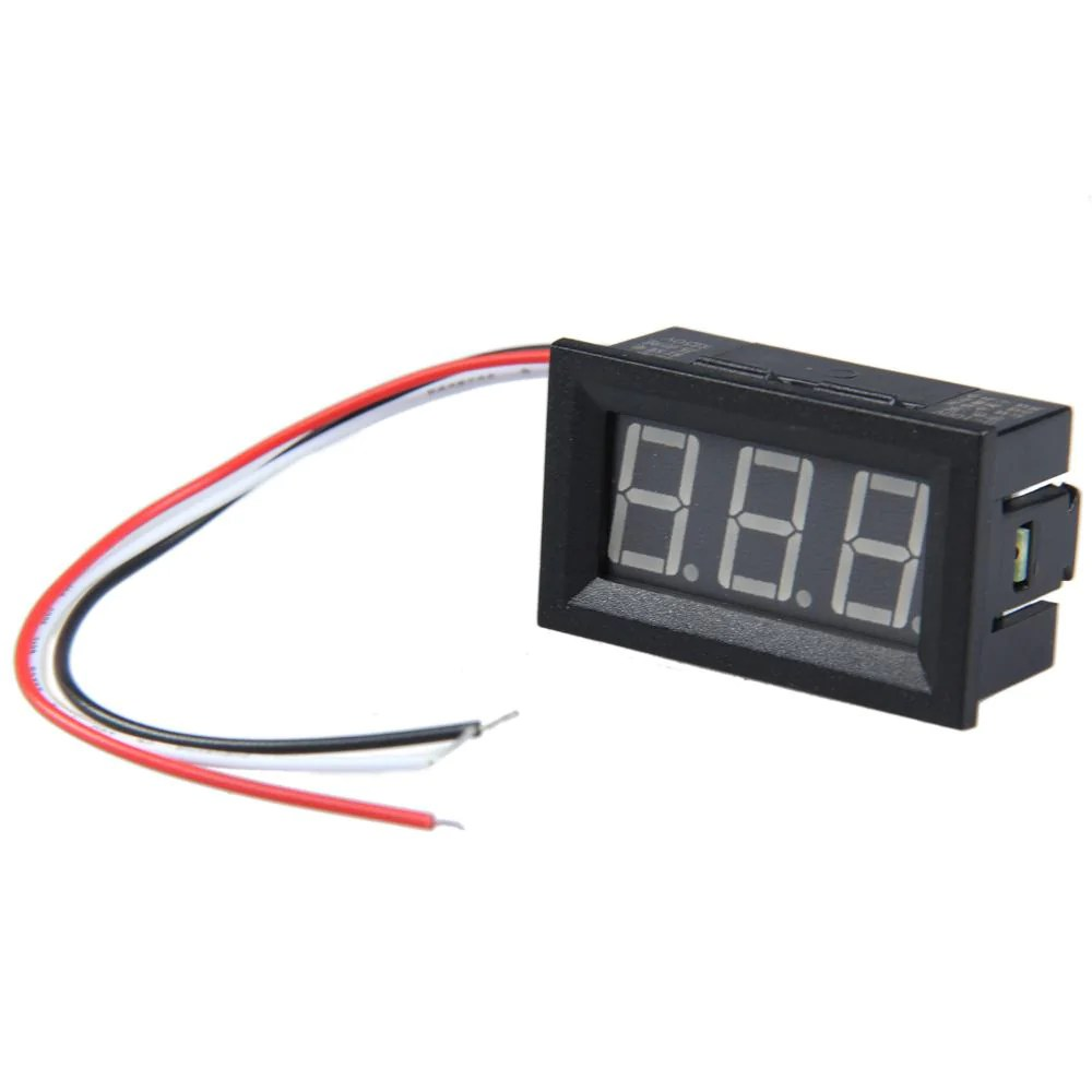 small resolution of dc panel meter wiring
