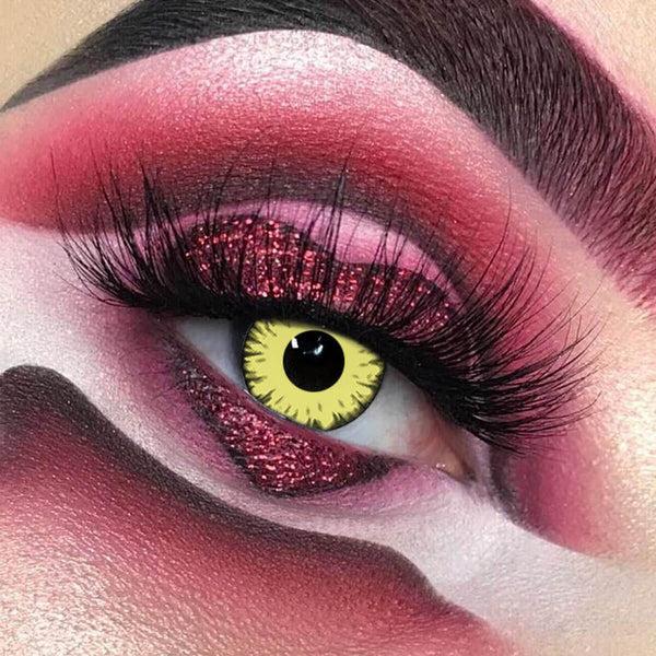 Twilight Cosplay Yellow Contact Lenses - Unicoeye