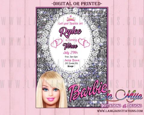 barbie invitations barbie birthday barbie birthday invitations barbie birthday party ideas barbie invites barbie invitations barbie invitaciones