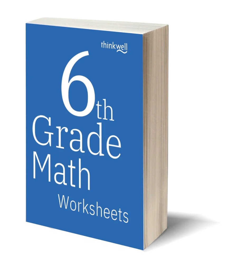6th Grade Math Worksheets and Answer Keys   Thinkwell   Thinkwell Homeschool [ 1024 x 868 Pixel ]