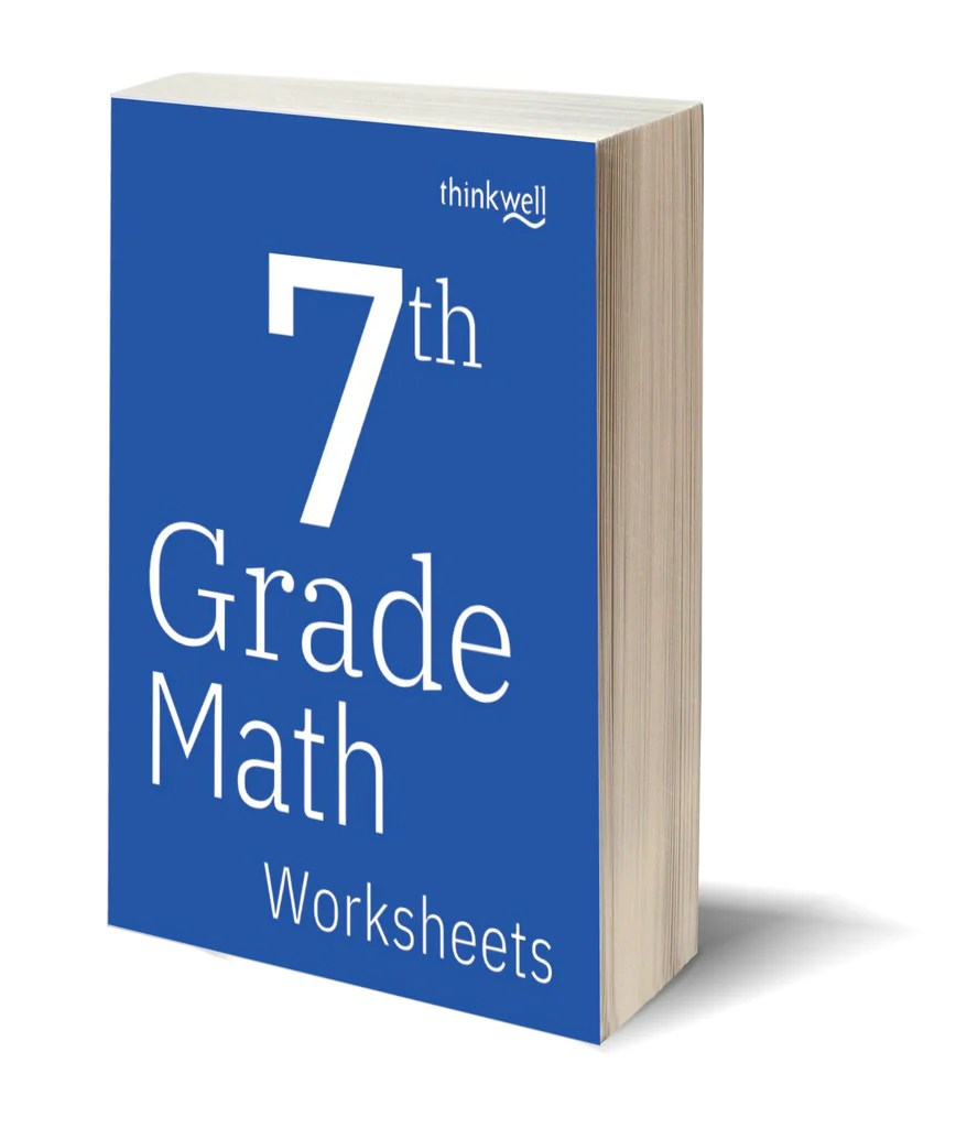 7th Grade Math Worksheets and Answer Keys   Thinkwell   Thinkwell Homeschool [ 1024 x 868 Pixel ]