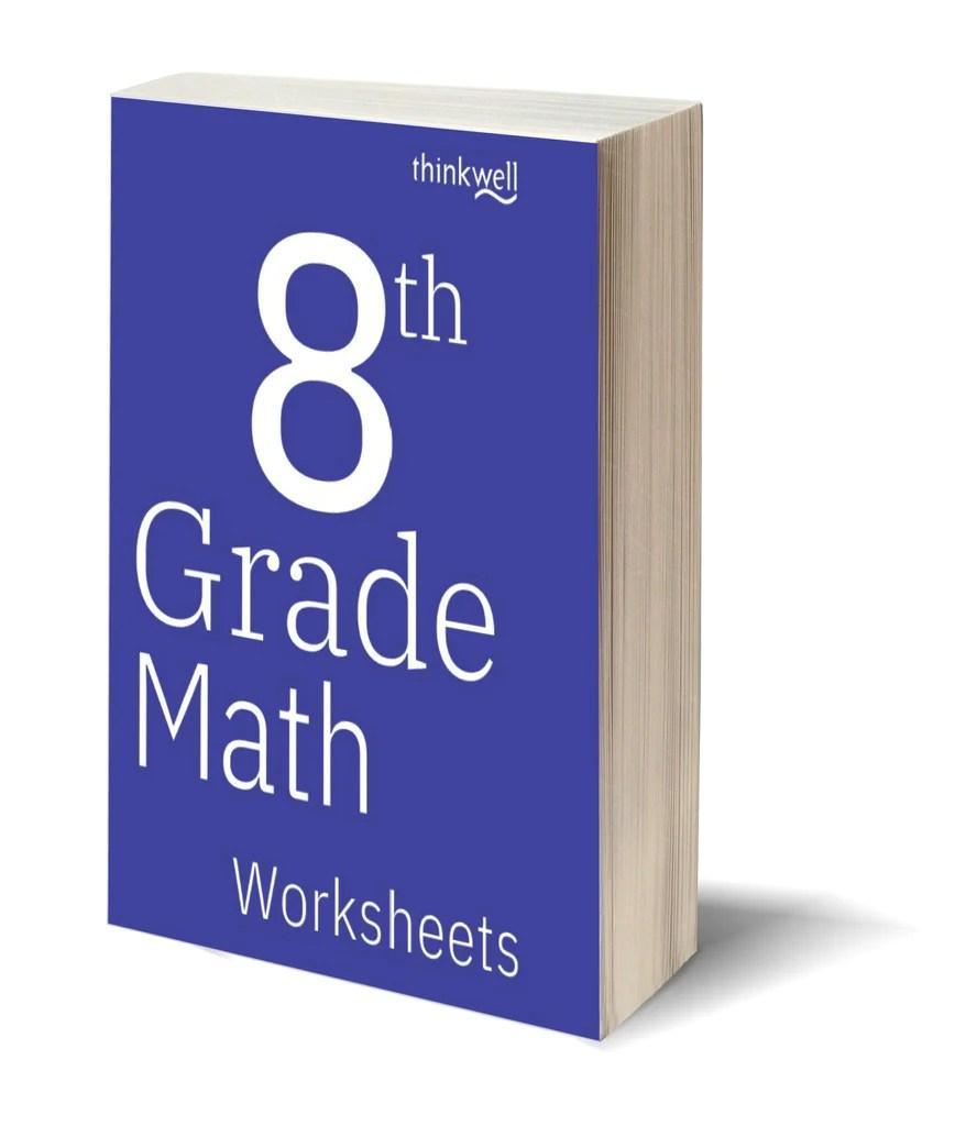 8th Grade Math Worksheets and Answer Keys   Thinkwell Homeschool [ 1024 x 868 Pixel ]