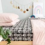 Lumberjack Black Single Bed Sheet