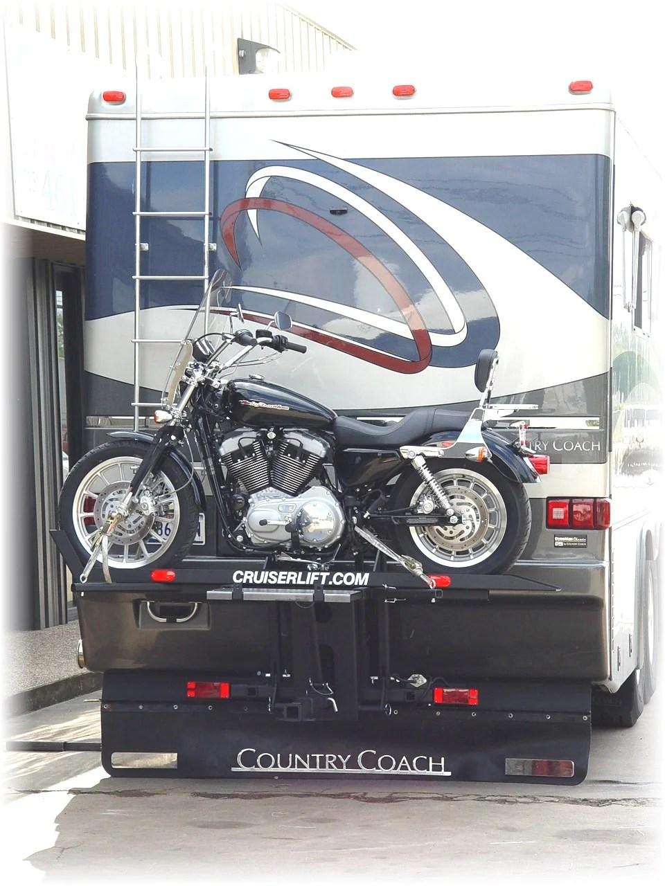 cruiserlift rv motorcycle lift
