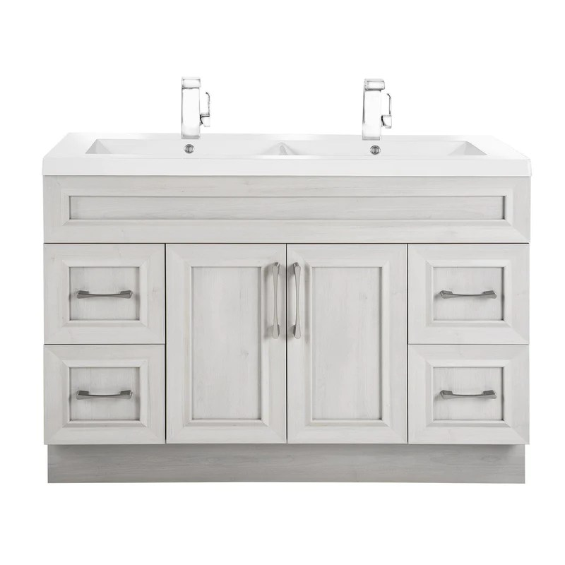 cutler kitchen and bath vintage appliance classic 48 in transitional double bathroom vanity