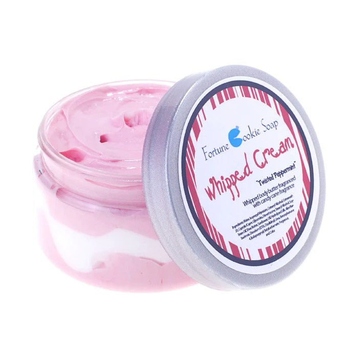 Twisted Peppermint Body Butter   Fortune Cookie Soap