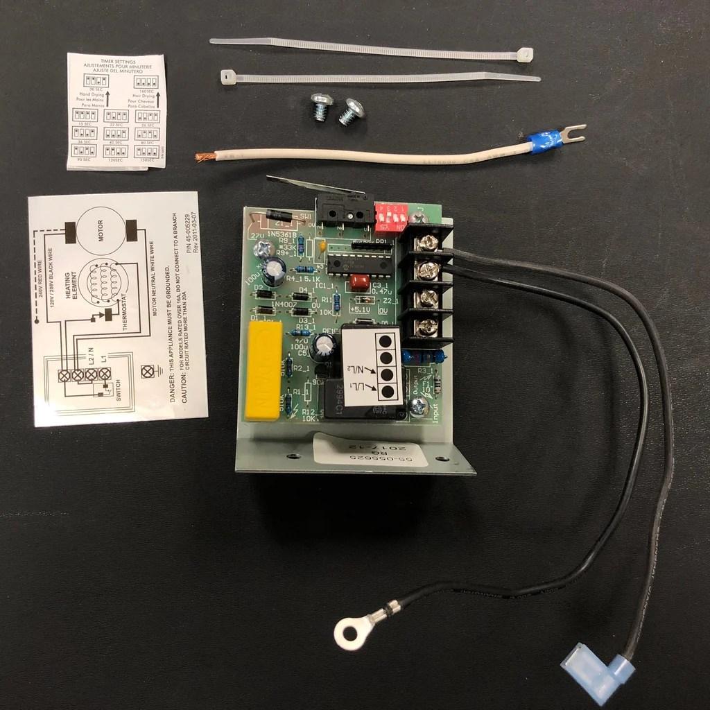 nova 0120 nova 5 push button model 208v 240v circuit board micro s allied hand dryer [ 1024 x 1024 Pixel ]