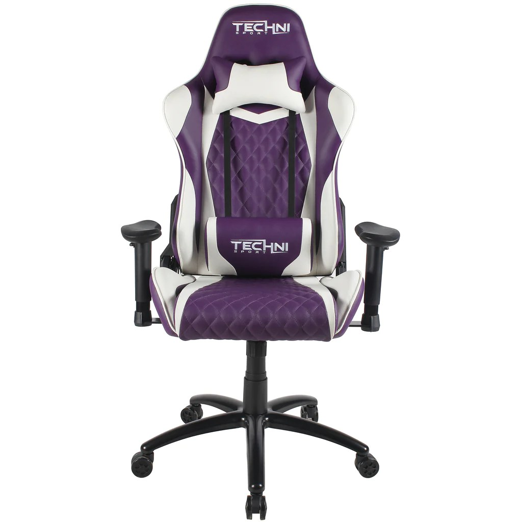 Video Chair Techni Sport Ts 52 High Back Racer Style Video Gaming Chair Purple