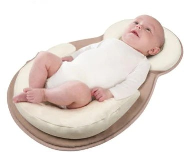 baby anti roll pillow for 0 12 months baby sleep positioner