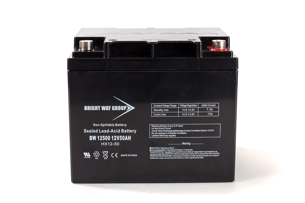 Bright Way Group BW 12500 IT  12V 50AH SLA Battery