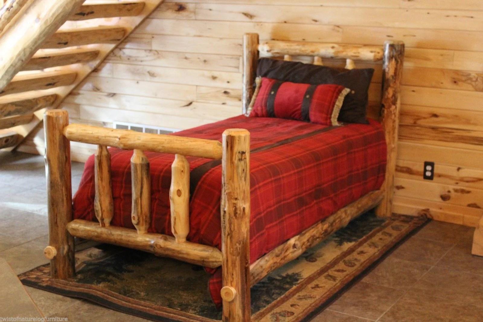Log Cabin Kit Bed Twistofnature