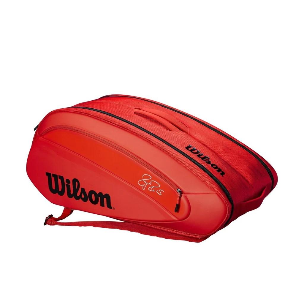 Wilson Roger Federer Dna 12 Pack Tennis Bag