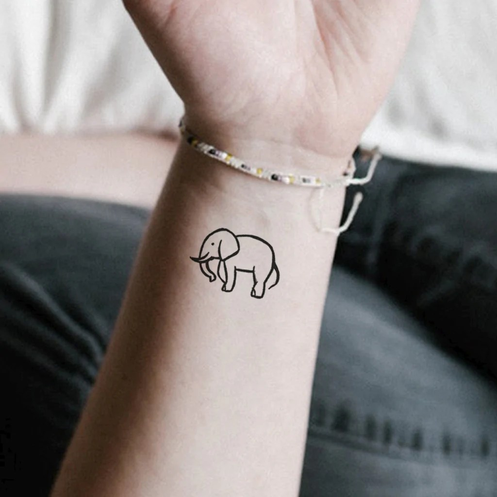 minimalist elephant set of