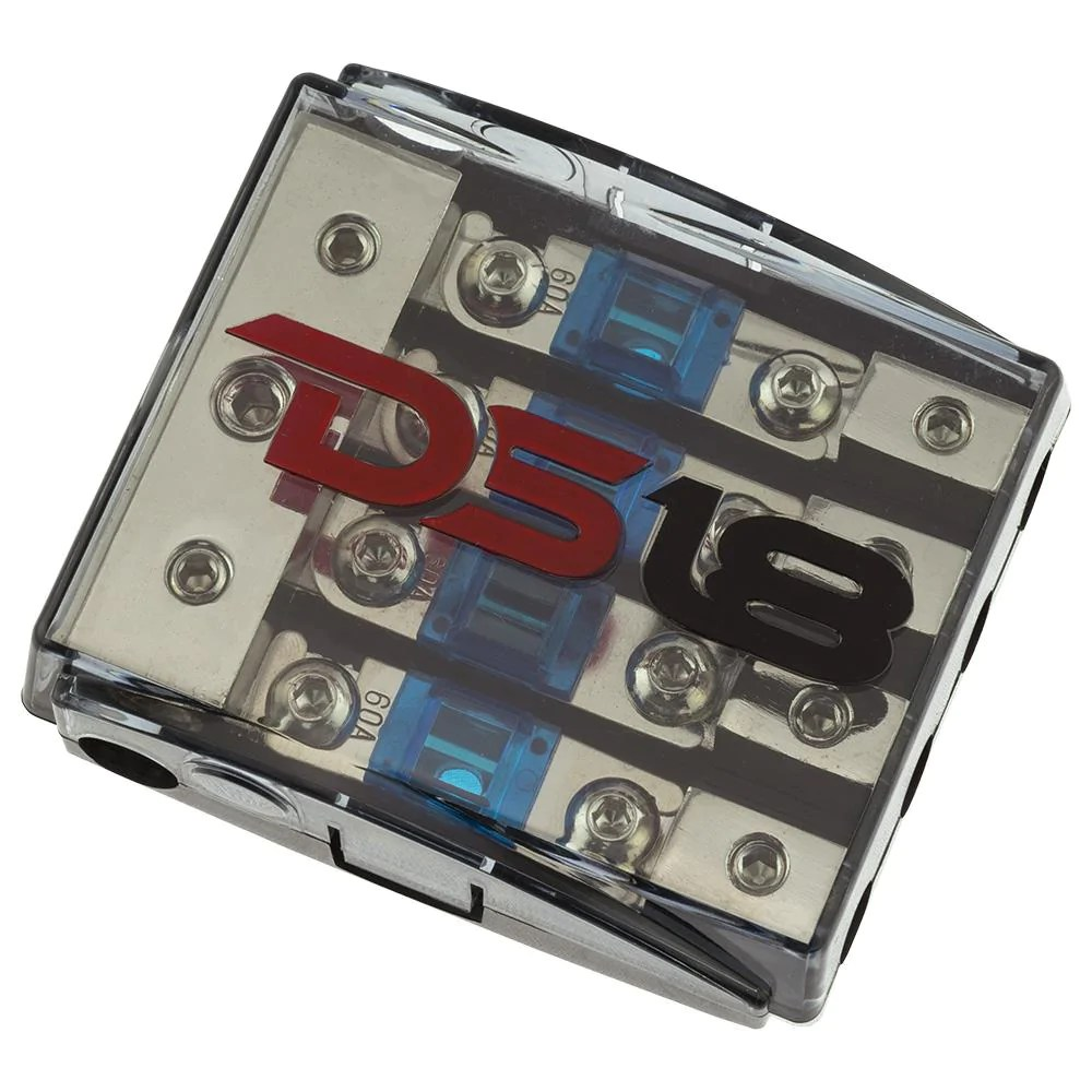 medium resolution of ds18 fd1024 48afs 60a afs mini anl fuse holder and distribution block 1x0ga 2x4ga in 4x8ga out with 60a fuses