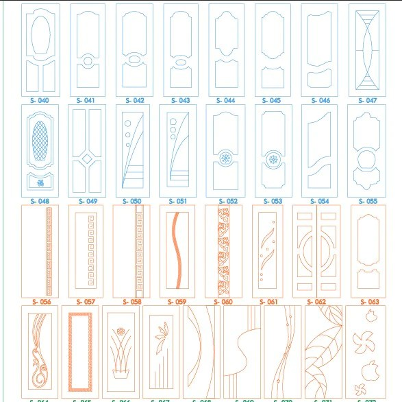 4400 collection dxf cdr