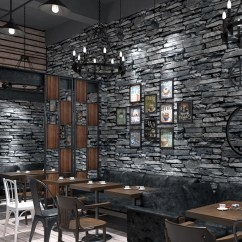 Wallpaper Living Room Wall Best Design Ideas Pvc 3d Embossed Brick Kitchen Hotel Restaurant Stone Paper Rolls For Walls 3 D Home Decor
