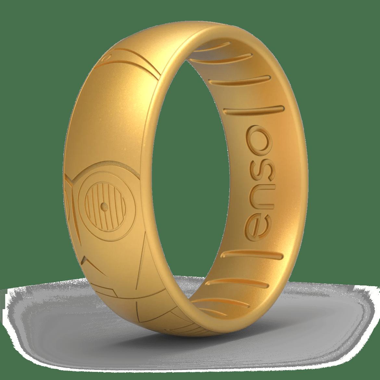 Star Wars Classic Silicone Ring - C3PO
