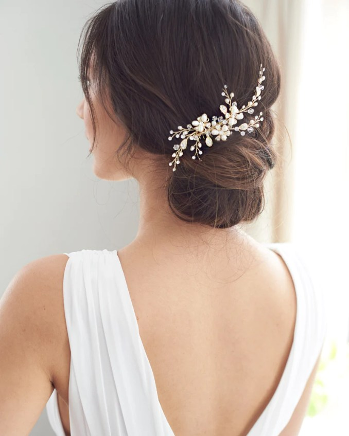 wedding hair combs & pins - shop bridal hair accessories