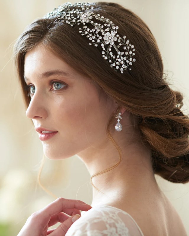 floral couture headband