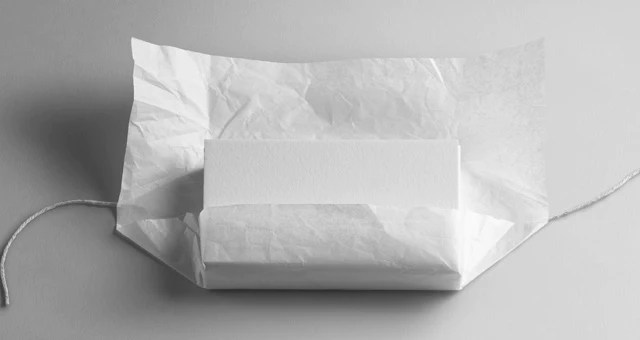 Download Wrapping Tissue Paper Mockup Free