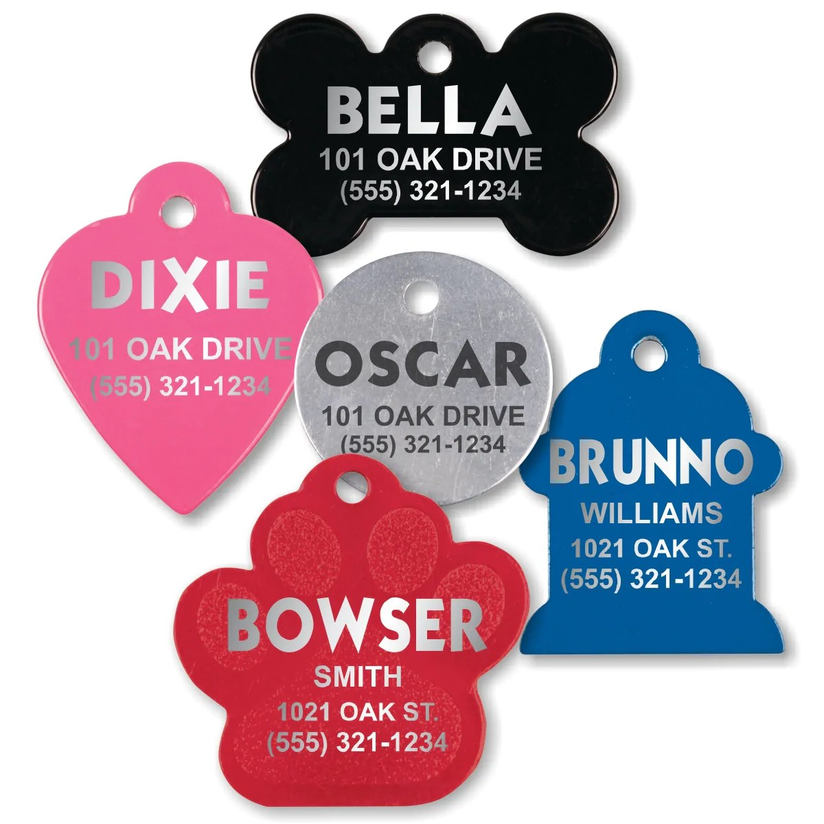 pet identification tags for